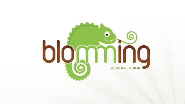 Blomming