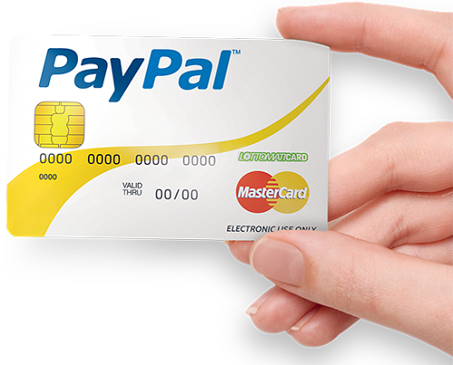 Carta PayPal 2016