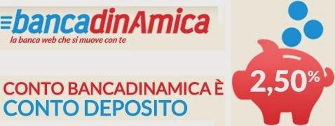 Conto deposito Bancadinamica