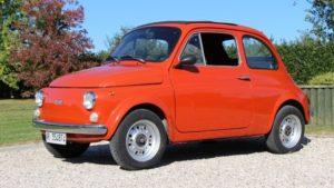 Assicurazione Fiat 500 d'Epoca