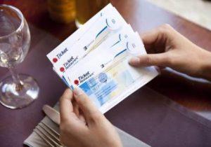 Ticket Restaurant Card