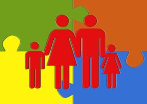Donne famiglia lavoro